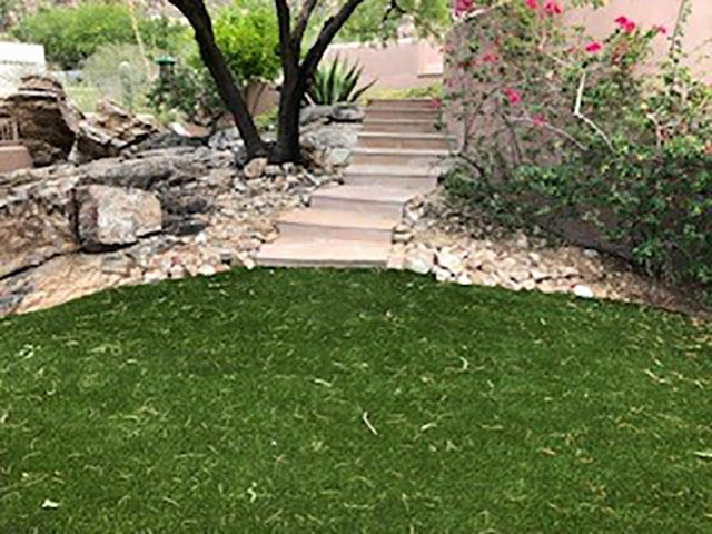 Residential landscaping before and after